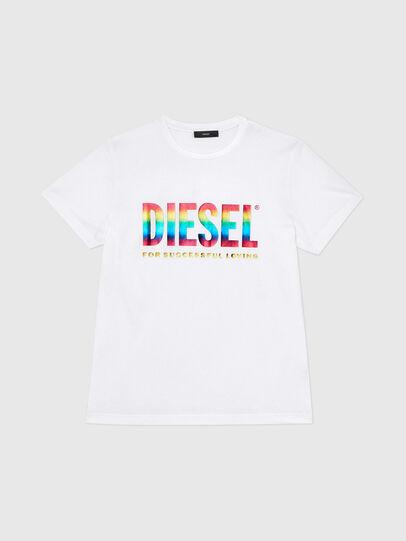 Diesel - BMOWT-DIEGO-NEW-P, Weiß - T-Shirts - Image 1