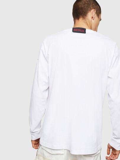 Diesel - LCP-T-JUST-LS-DENVER, Weiß - T-Shirts - Image 3