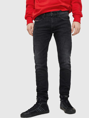 Thommer 0890E, Schwarz/Dunkelgrau - Jeans