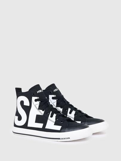 Diesel - S-ASTICO MID CUT, Schwarz/Weiss - Sneakers - Image 2
