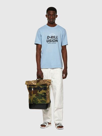 Diesel - T-JUBINDY, Hellblau - T-Shirts - Image 4