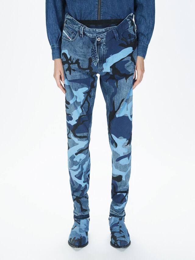 Diesel - SOPKN01, Blau Meliert - Jeans - Image 3