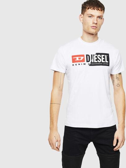 Diesel - T-DIEGO-CUTY, Weiß - T-Shirts - Image 4