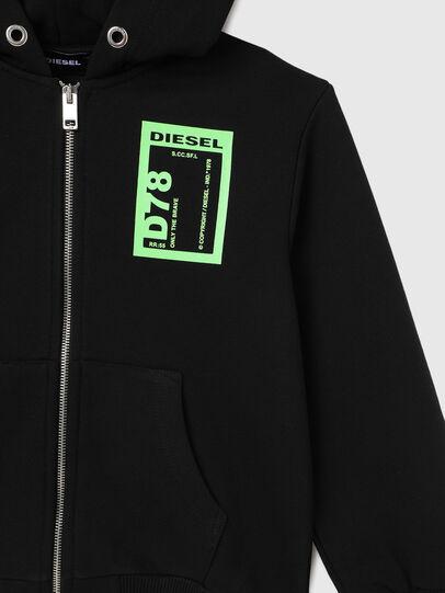Diesel - SFULLZIP78 OVER, Schwarz - Sweatshirts - Image 3