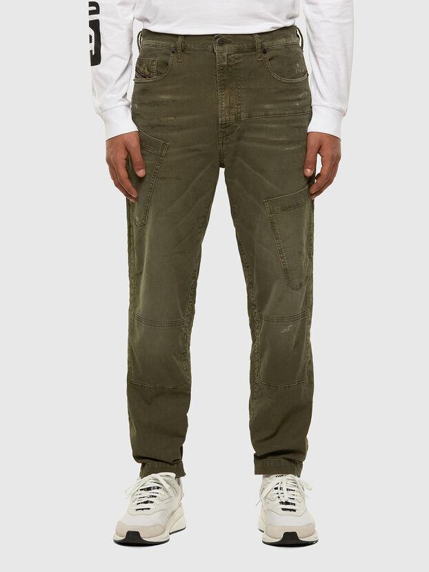 D-Azzer JoggJeans 069NF, Armeegrün - Jeans