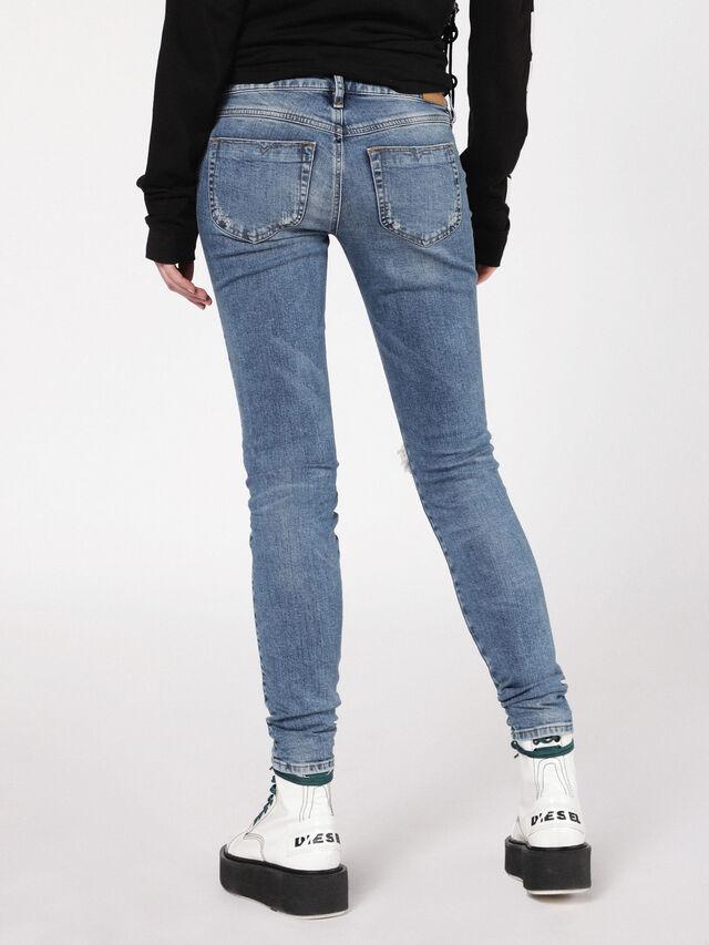 Diesel - Gracey 069AI, Mittelblau - Jeans - Image 3
