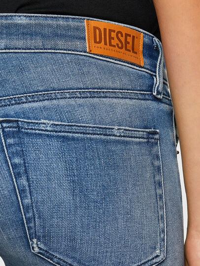 Diesel - Slandy Low 009JI, Hellblau - Jeans - Image 4