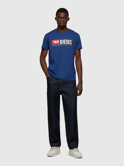 Diesel - T-DIEGO-CUTY, Blau - T-Shirts - Image 4