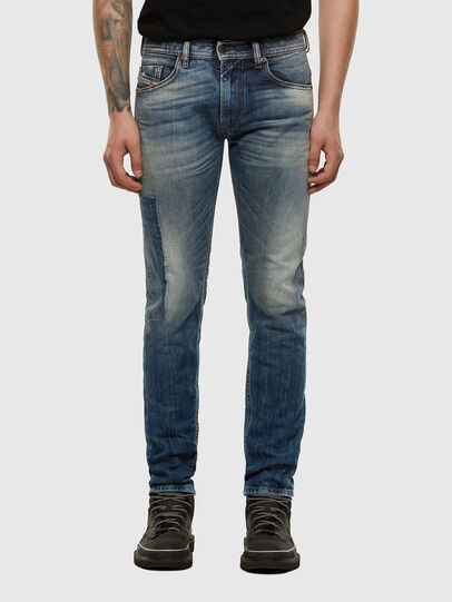 Diesel - Thommer 009FK, Mittelblau - Jeans - Image 1