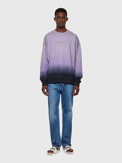 Diesel - S-MART-B4, Blau/Violett - Sweatshirts - Image 7