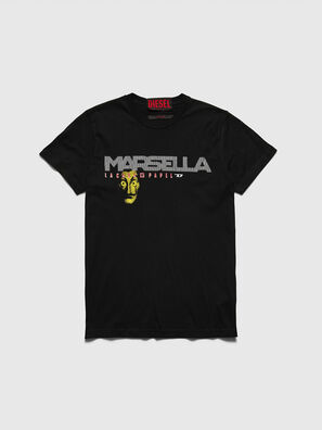 LCP-T-DIEGO-MARSELLA, Schwarz - T-Shirts