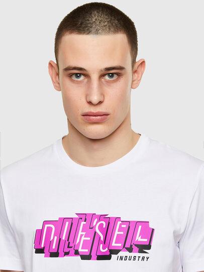 Diesel - T-DIEGOS-E32, Weiß - T-Shirts - Image 3