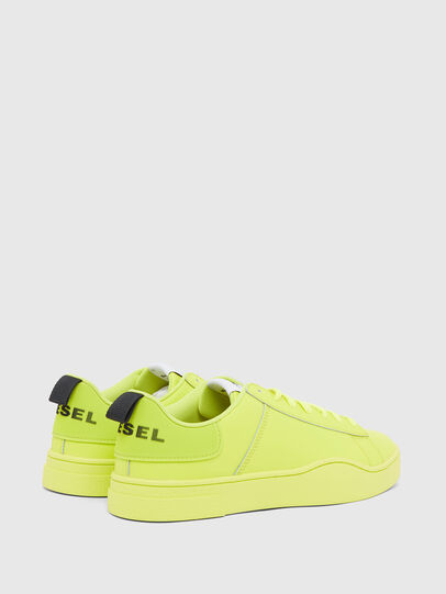 Diesel - S-CLEVER LOW LACE, Gelb - Sneakers - Image 3