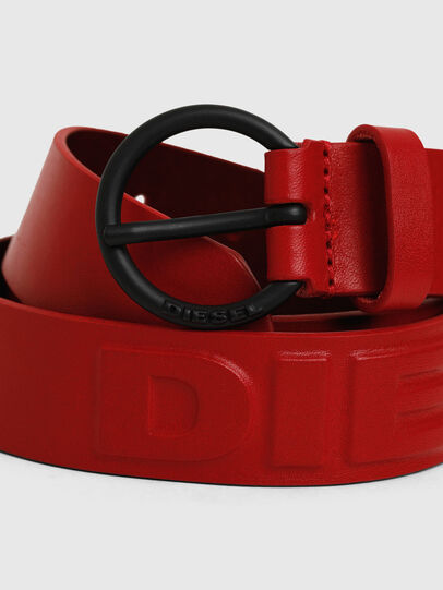 Diesel - B-RING, Feuerrot - Gürtel - Image 2