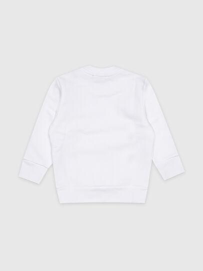 Diesel - SCREWDOSKYB-R, Weiß - Sweatshirts - Image 2