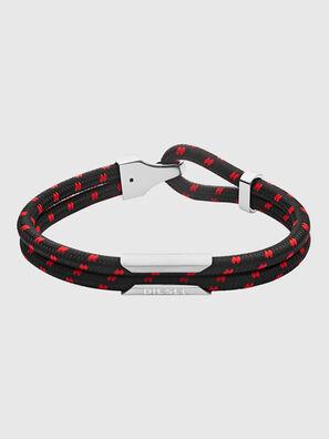 DX1235, Schwarz/ Rot - Armbänder