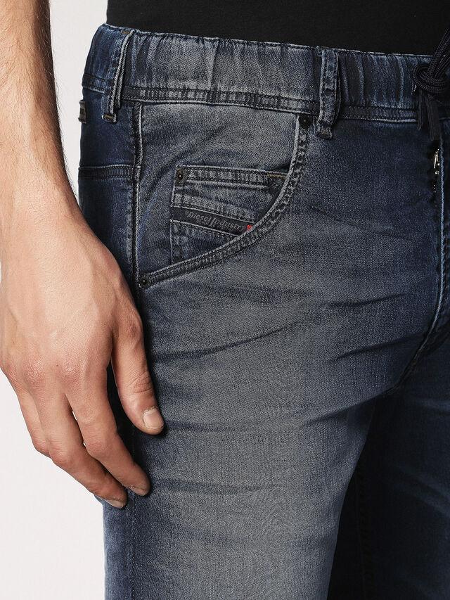 Diesel Krooley JoggJeans 0683Y, Dunkelblau - Jeans - Image 4