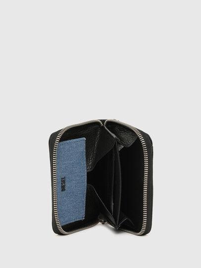 Diesel - CRASSU, Schwarz/Blau - Portemonnaies Zip-Around - Image 3