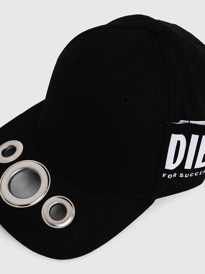 Diesel - CHOLES, Schwarz - Hüte - Image 3