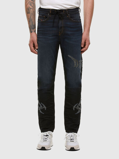 Diesel - D-Vider JoggJeans 009HE, Dunkelblau - Jeans - Image 1