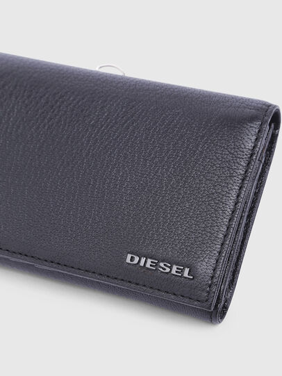 Diesel - 24 A DAY, Schwarz - Continental Portemonnaies - Image 4