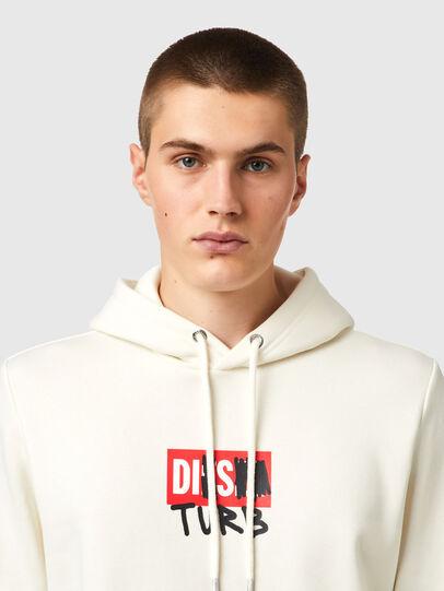 Diesel - S-GIRK-HOOD-B8, Weiß - Sweatshirts - Image 3