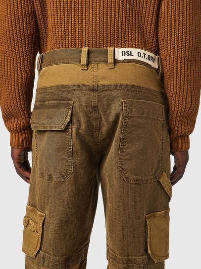 Diesel - D-Multy JoggJeans® 0AFAE, Braun - Jeans - Image 4