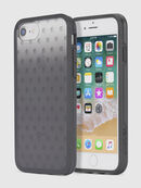 MOHICAN HEAD DOTS BLACK IPHONE 8 PLUS/7 PLUS/6s PLUS/6 PLUS CASE, Schwarz - Schutzhüllen