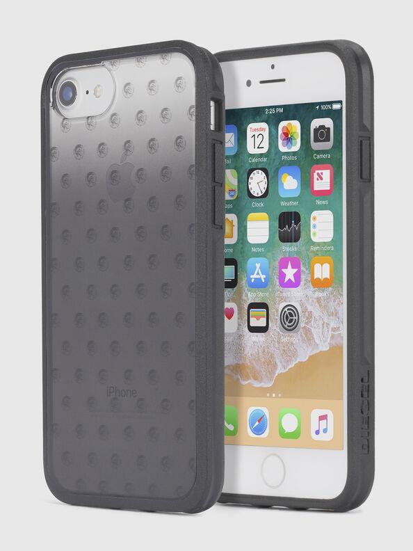 MOHICAN HEAD DOTS BLACK IPHONE 8 PLUS/7 PLUS/6s PLUS/6 PLUS CASE,  - Schutzhüllen