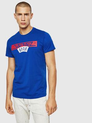 T-DIEGO-A1, Brillantblau - T-Shirts