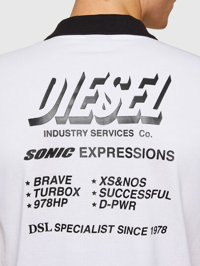 Diesel - T-RANDY-NEW-A1, Weiß - Polohemden - Image 3