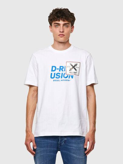 Diesel - T-JUST-B62, Weiß - T-Shirts - Image 1