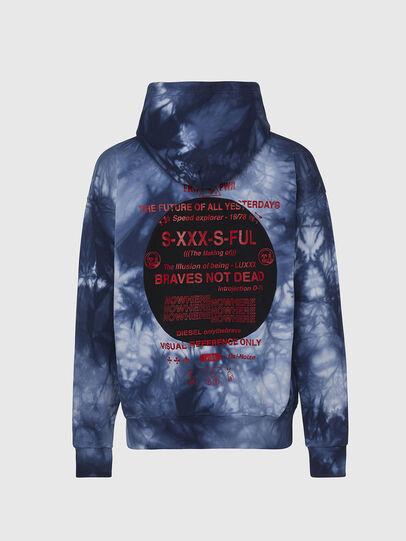 Diesel - S-MOONY, Blau/Weiss - Sweatshirts - Image 2