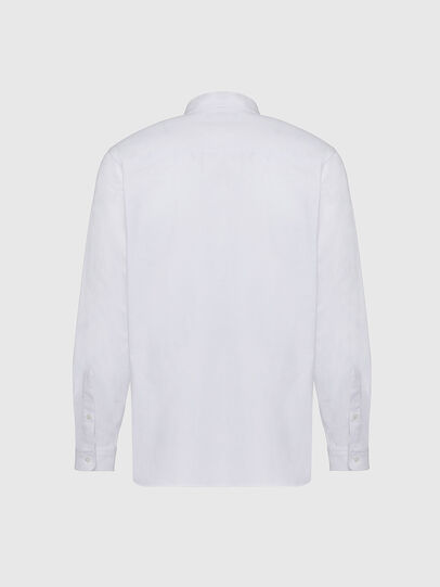 Diesel - S-JAMES, Weiß - Hemden - Image 2