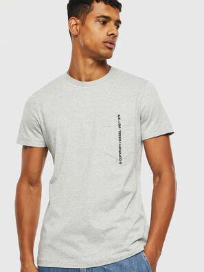 T-RUBIN-POCKET-J1, Grau - T-Shirts