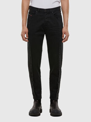 D-Vider 009LA, Schwarz/Dunkelgrau - Jeans