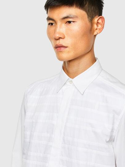 Diesel - S-WEIR, Weiß - Hemden - Image 3