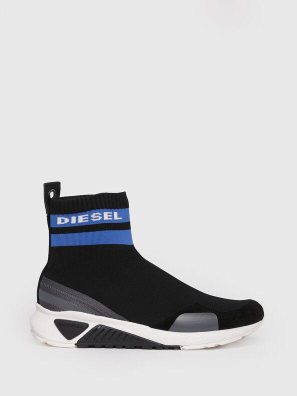 S-KB SOCK, Schwarz/Blau - Sneakers