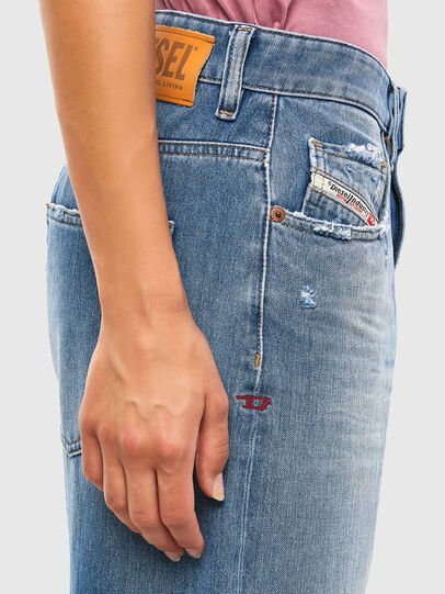Diesel - D-Reggy 009JX, Hellblau - Jeans - Image 4