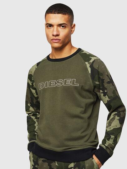 Diesel - UMLT-MAX, Camouflagegrün - Sweatshirts - Image 1