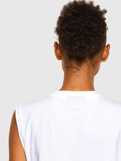 Diesel - T-PUNKYER-R1, Weiß - T-Shirts - Image 4