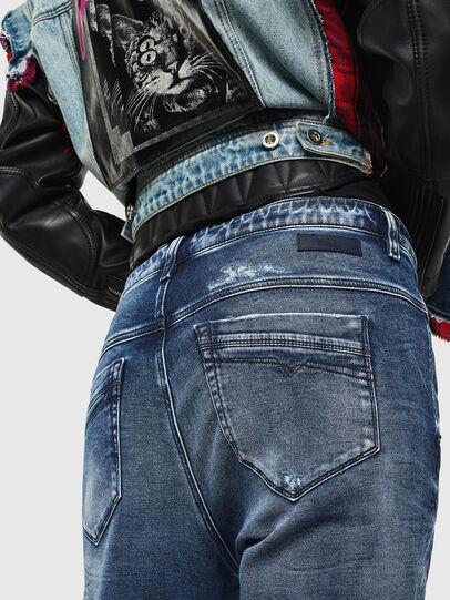 Diesel - Fayza JoggJeans 0096M, Dunkelblau - Jeans - Image 4