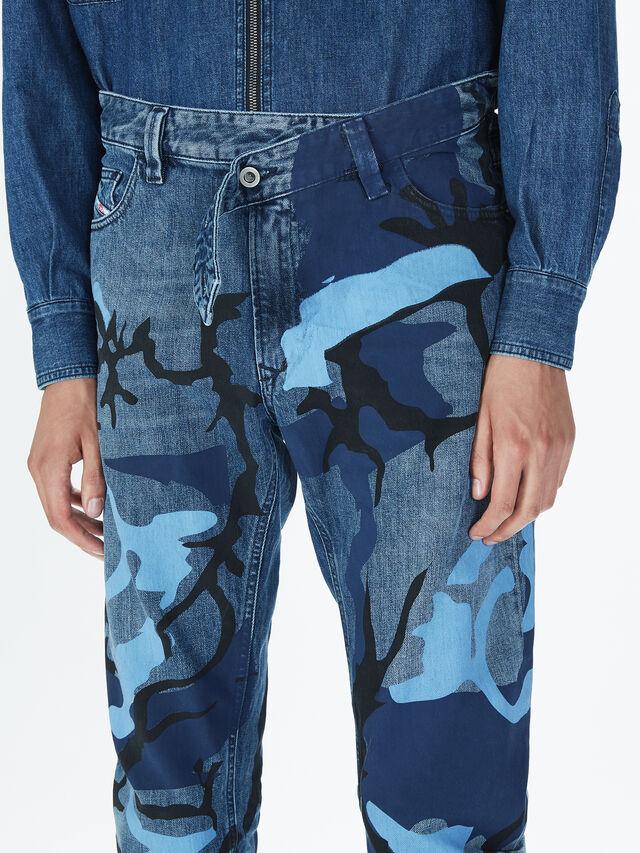 Diesel - SOPKN01, Blau Meliert - Jeans - Image 5