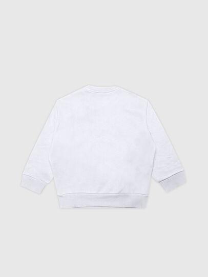Diesel - SCREWDOSKYB, Weiß - Sweatshirts - Image 2