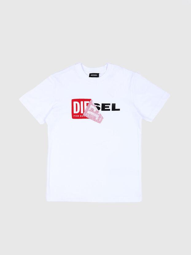 TDIEGO, Weiß/Rot - T-Shirts und Tops