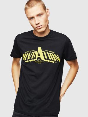 T-DIEGO-B16, Schwarz - T-Shirts