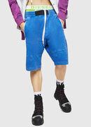 P-BIRX, Blau - Kurze Hosen