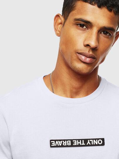 Diesel - T-DIEGO-T16, Weiß - T-Shirts - Image 4