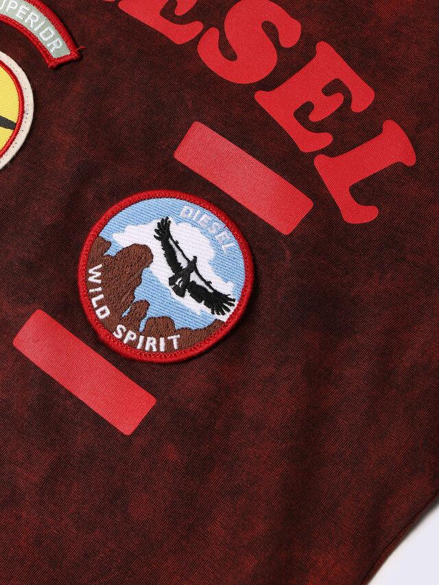Diesel - TIFFOR, Bordeauxrot - T-Shirts und Tops - Image 3
