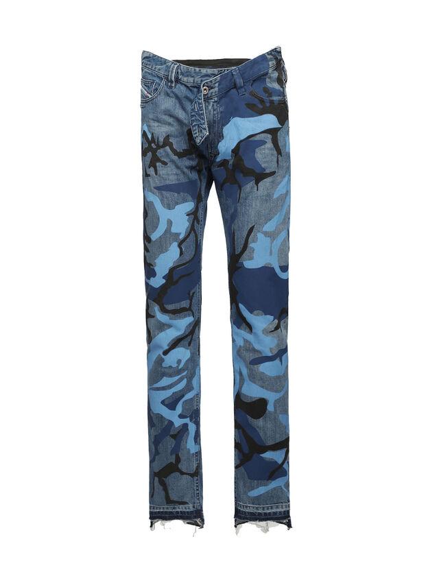 Diesel - SOPKN01, Blau Meliert - Jeans - Image 1
